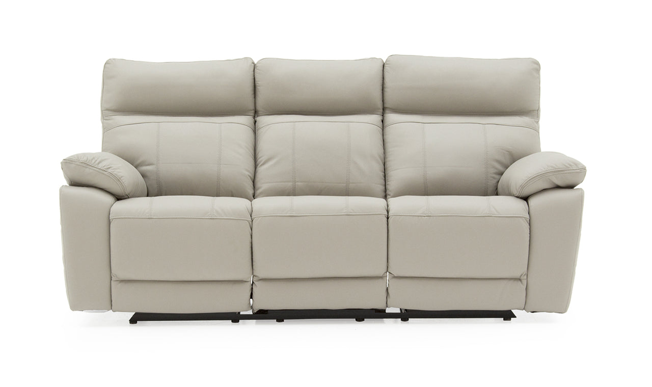 Positano 3 Seater Electric Recliner - Light Grey