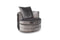 Nicolette Swivel Chair - Pewter
