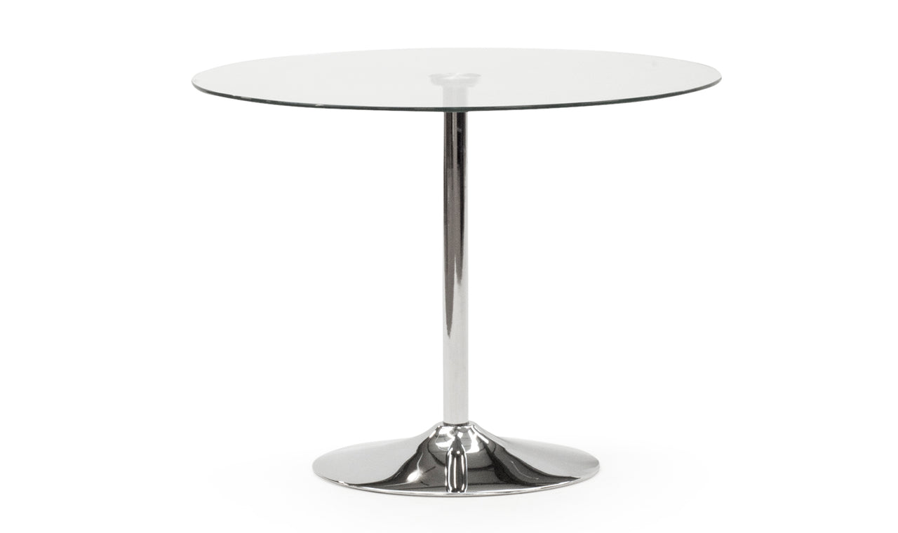 Orbit Dining Table 1000 - Clear