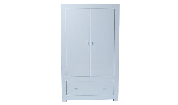 Newport Wardrobe - 2 Door ASSEMBLED