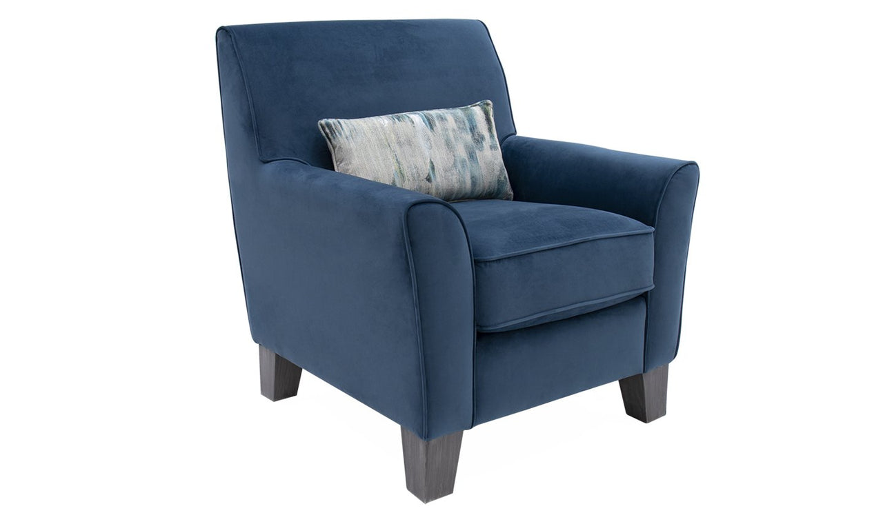 Cantrell Accent Chair - Blue