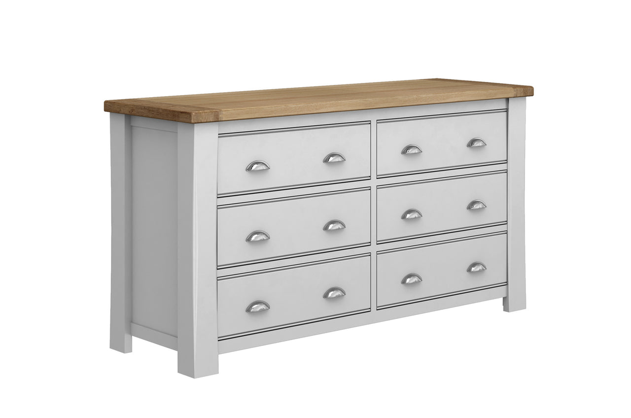 Amberly Dressing Chest - 6 Drawer