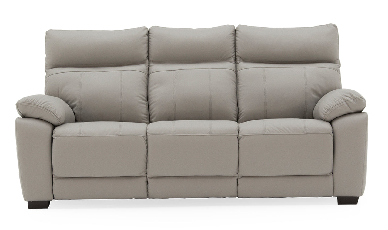 Positano 3 Seater Fixed - Light Grey