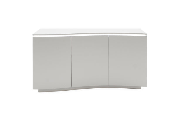 Lazzaro  Sideboard - Light Grey Matt with LED (Nett)