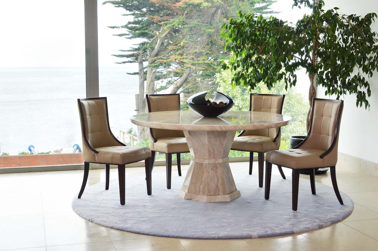 Marcello Round Dining Table 1500 (NR)