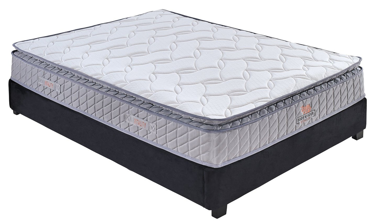 Body and Soul - Vitality Pillow Top 5' Mattress