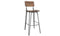 Delta Bar Chair  - Rustic Elm (Sold 2 per Box)