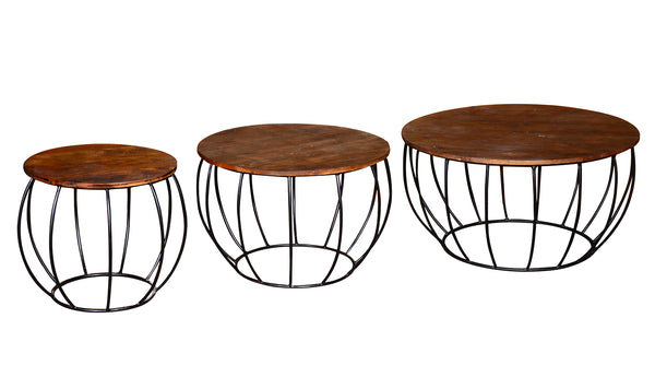 Durango Coffee Table - Nesting set