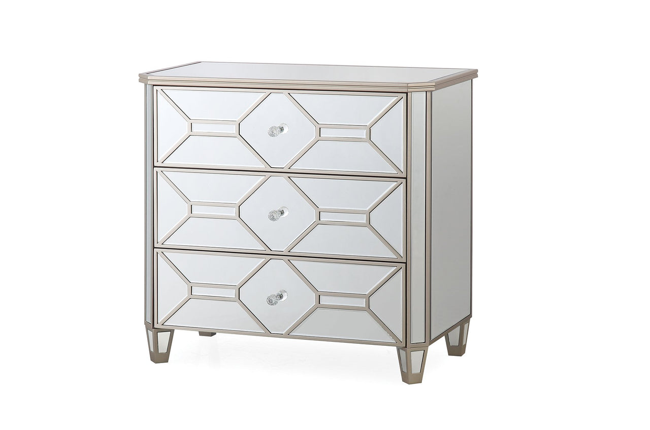 Rosa Dressing Chest - 3 Drawer