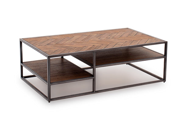 Vanya Coffee Table - Light Brown