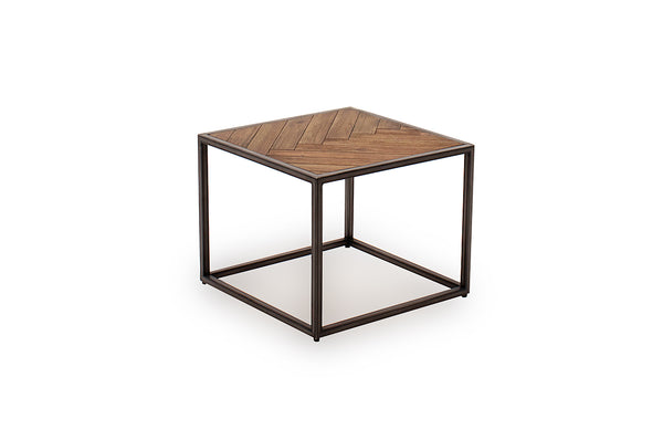 Vanya Lamp Table - Light Brown