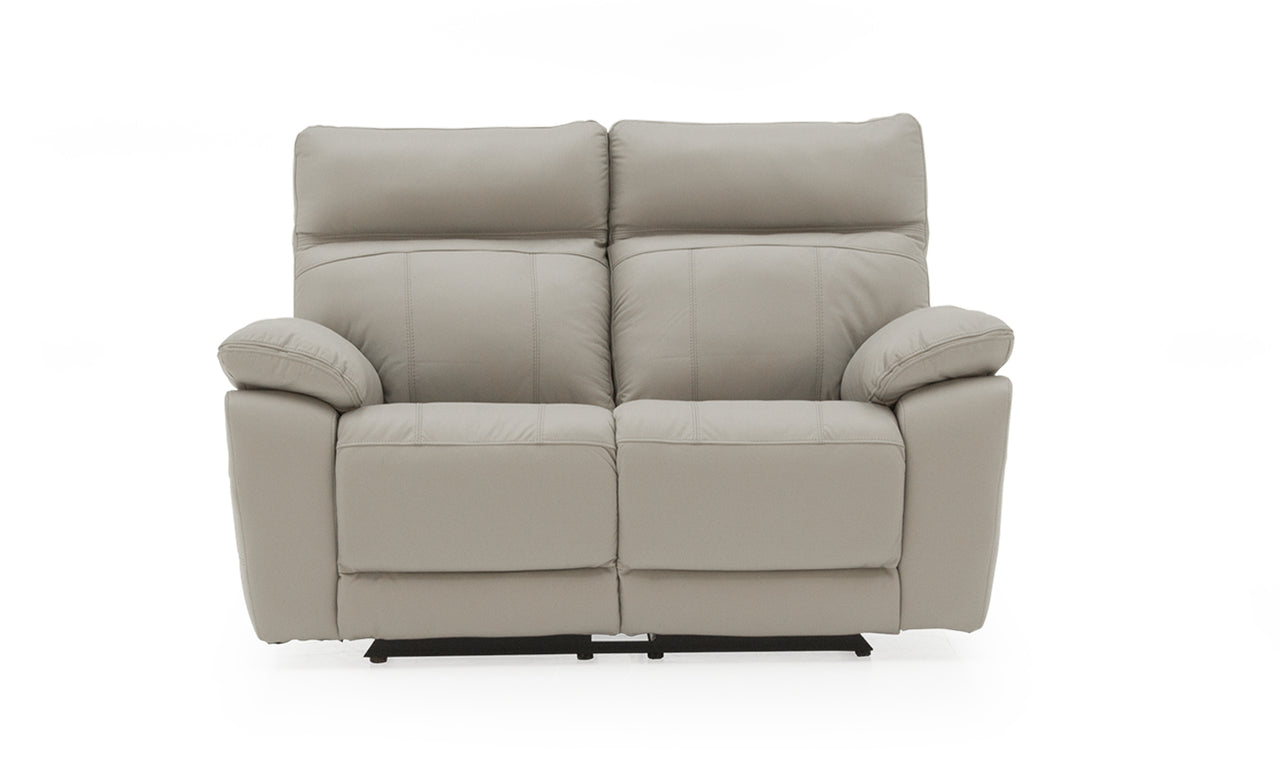 Positano 2 Seater Electric Recliner - Light Grey