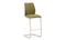 Irma Bar Chair - Brushed Steel Olive (2/Box)
