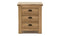 Breeze Bedside Table - 3 Drawer