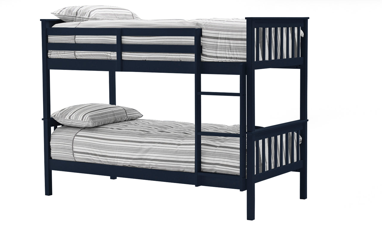 Salix Bunk Bed - 3' Bed Blue