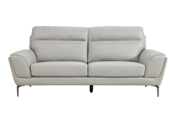 Vitalia 3 Seater Fixed - Light Grey