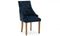 Hobbs Dining Chair - Velvet Midnight (2/Box)