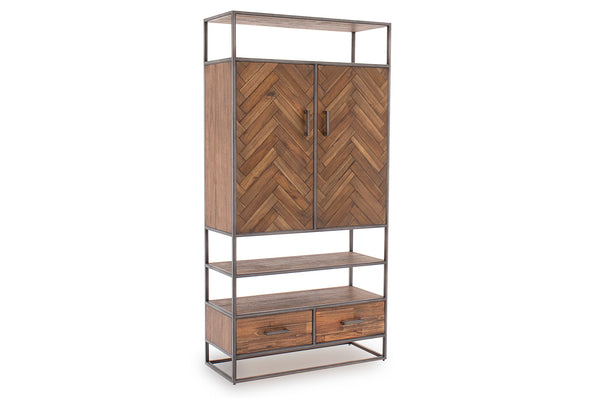 Vanya Display Cabinet - Light Brown