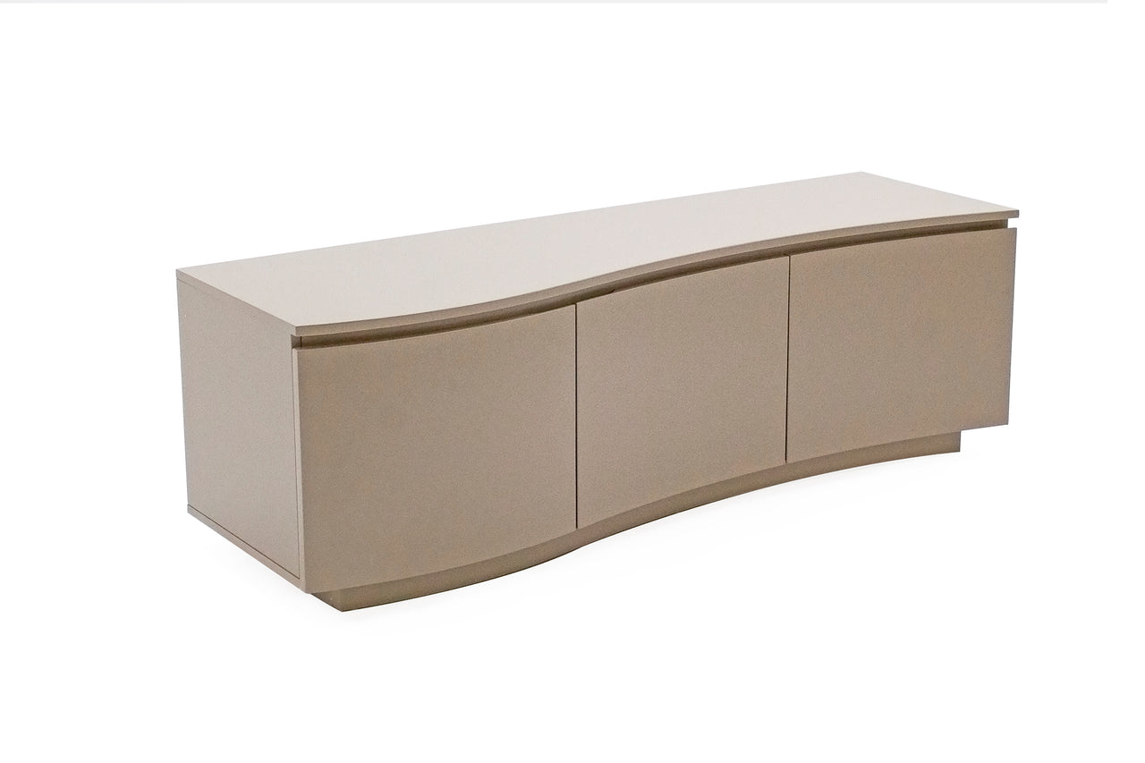Lazzaro  TV Cabinet - Cappuccino Matt with LED (Nett)