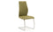 Elis Dining Chair - Chrome Leg Olive (2/Box)