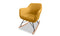 Katell Rocking Chair - Mustard