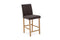 Evelyn Bar Chair - Brown PU (2/Box) (NR)