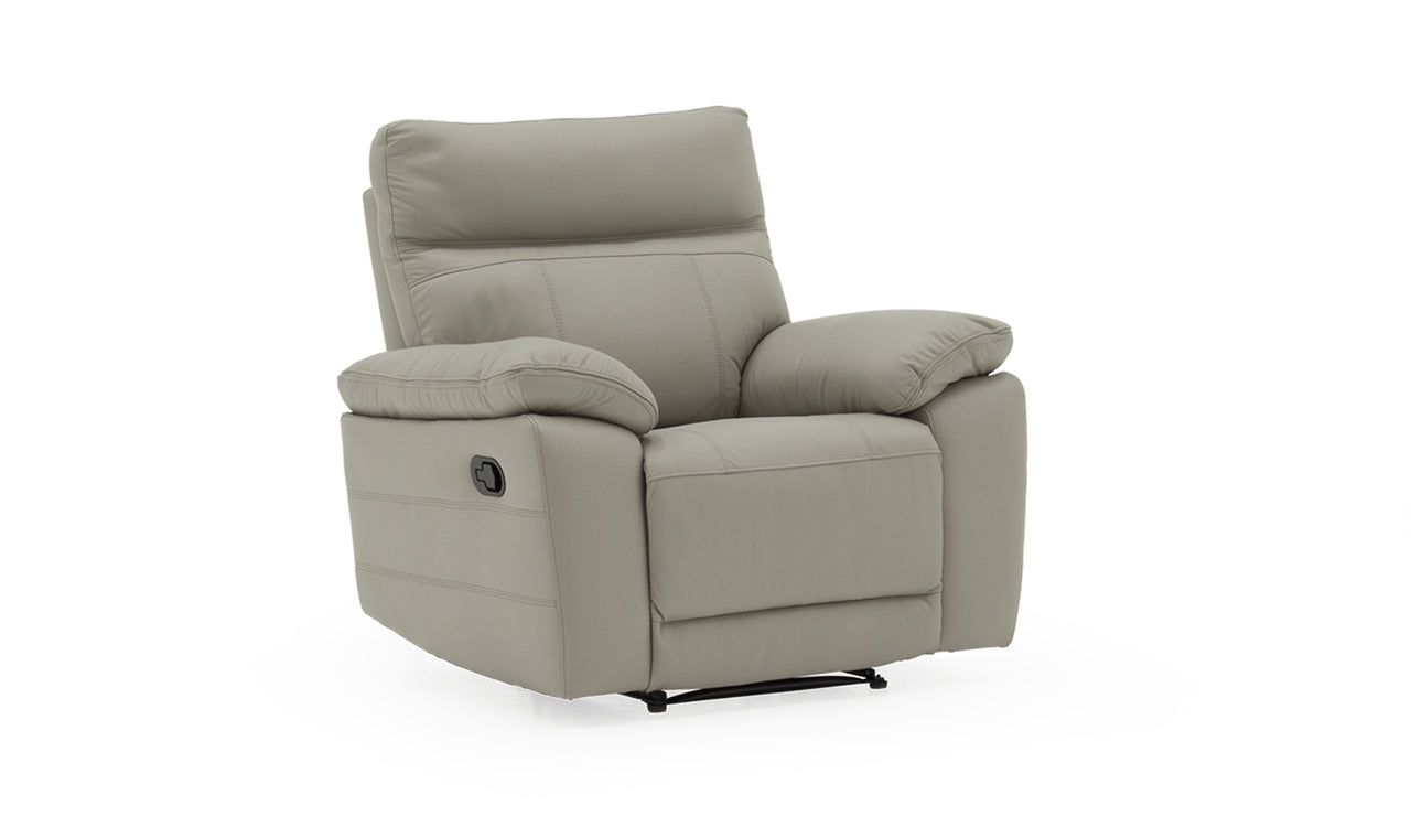 Positano 1 Seater Electric Recliner - Light Grey