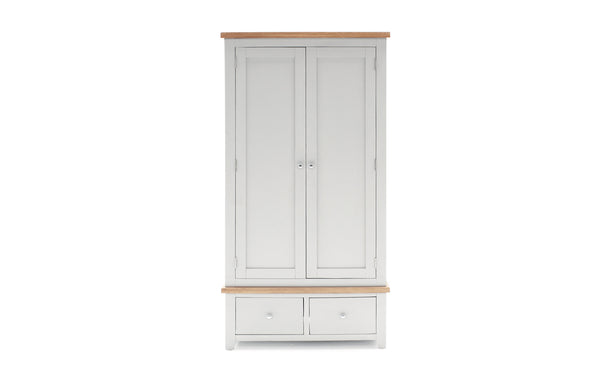 Ferndale Wardrobe - 2 Door/2 Drawer