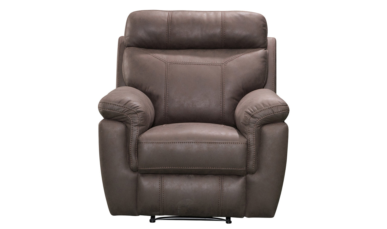 Baxter 1 Seater Recliner - Brown (Nett)