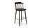 Blake Bar Chair - Black Elm Sold in boxes of 2