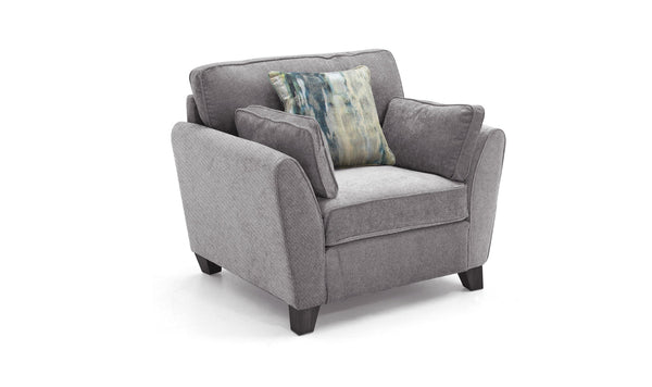Cantrell 1 Seater – Grey
