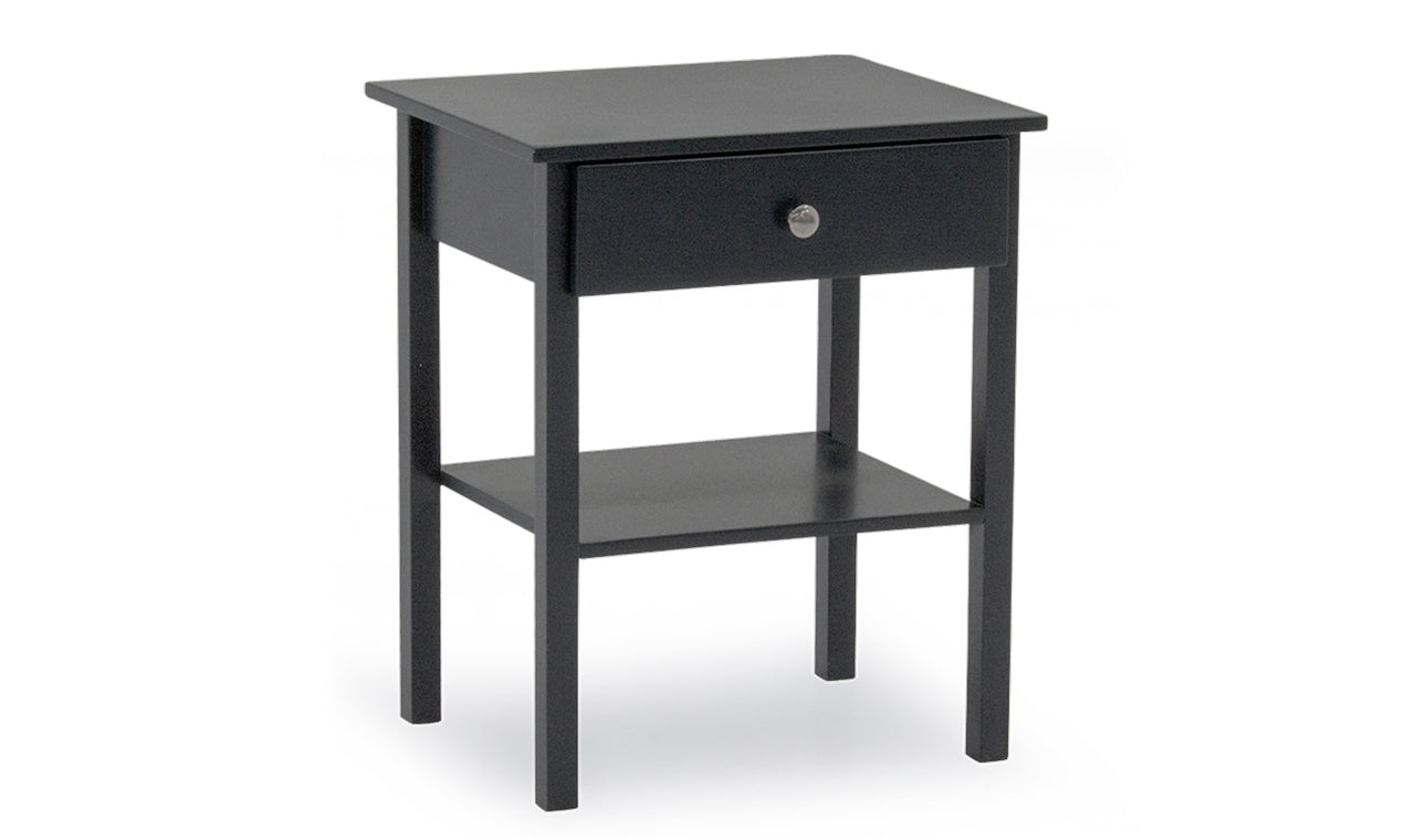 Willow Table, Bedside Table - Grey