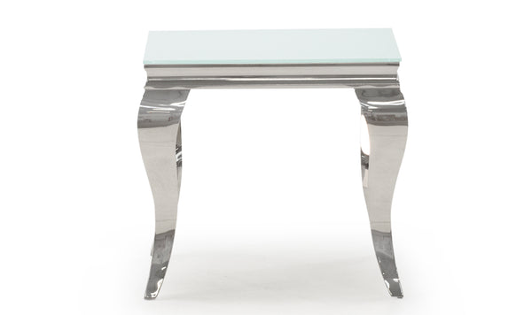 Louis Lamp Table - White