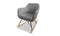 Katell Rocking Chair - Light Grey