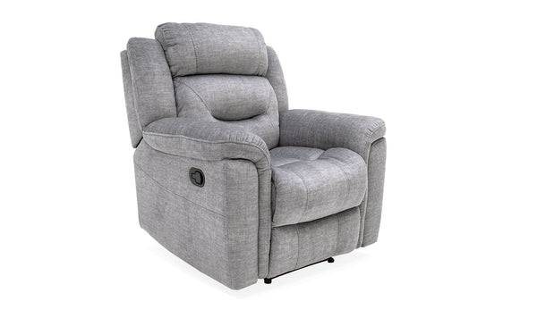 Dudley 1 Seater Reclining - Grey