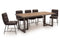 Vanya Dining Table - Light Brown 2000