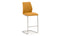 Elis Bar Chair - Chrome Leg Pumpkin (2/Box)