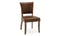 Duke Dining Chair Leather - Tan Brown