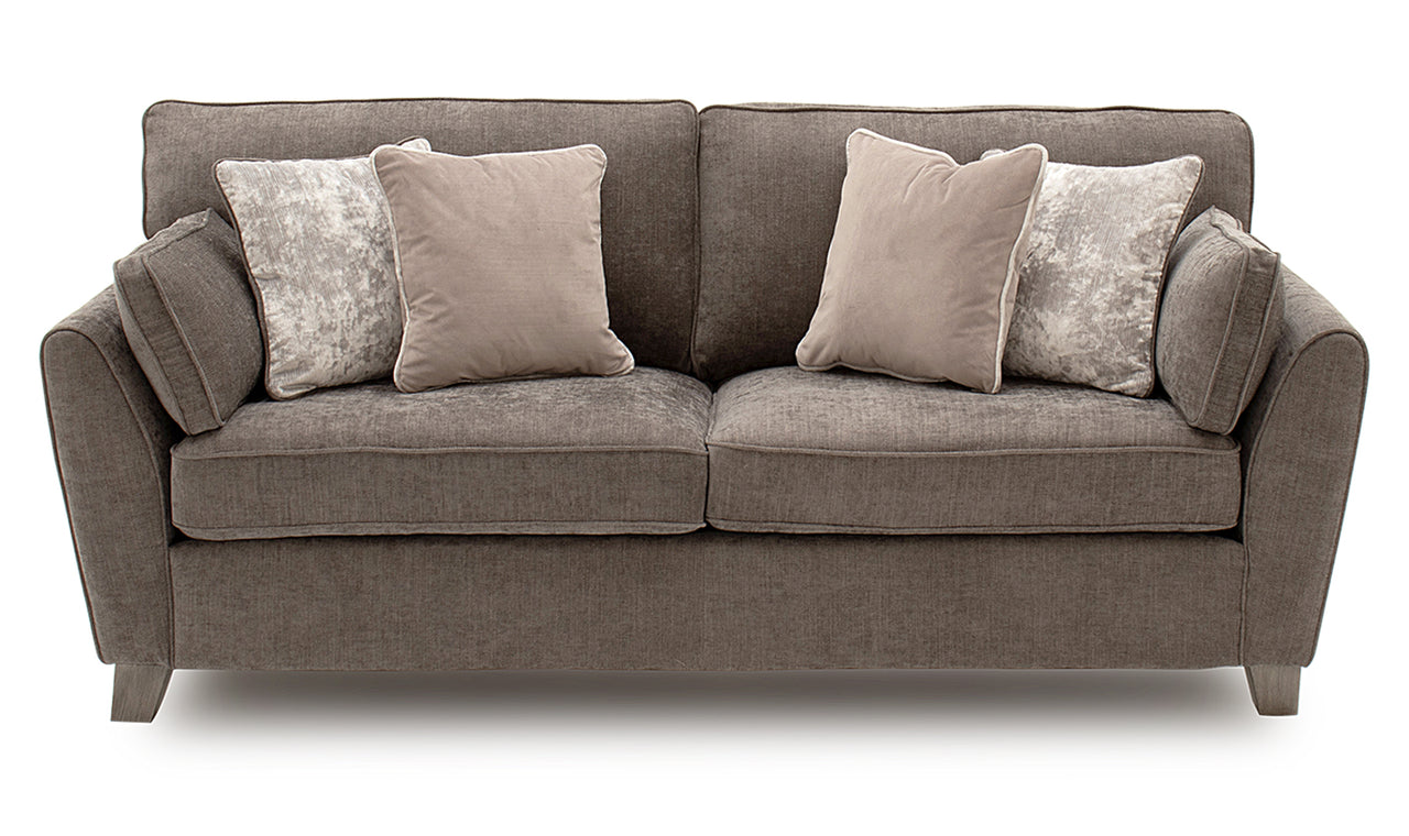 Cantrell 3 Seater - Mushroom