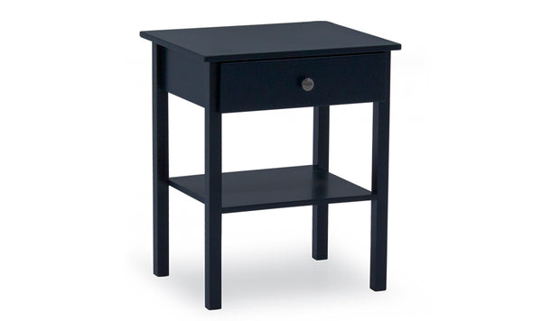 Willow Table, Bedside Table - Blue