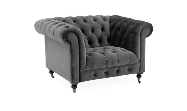 Darby 1 Seater - Grey