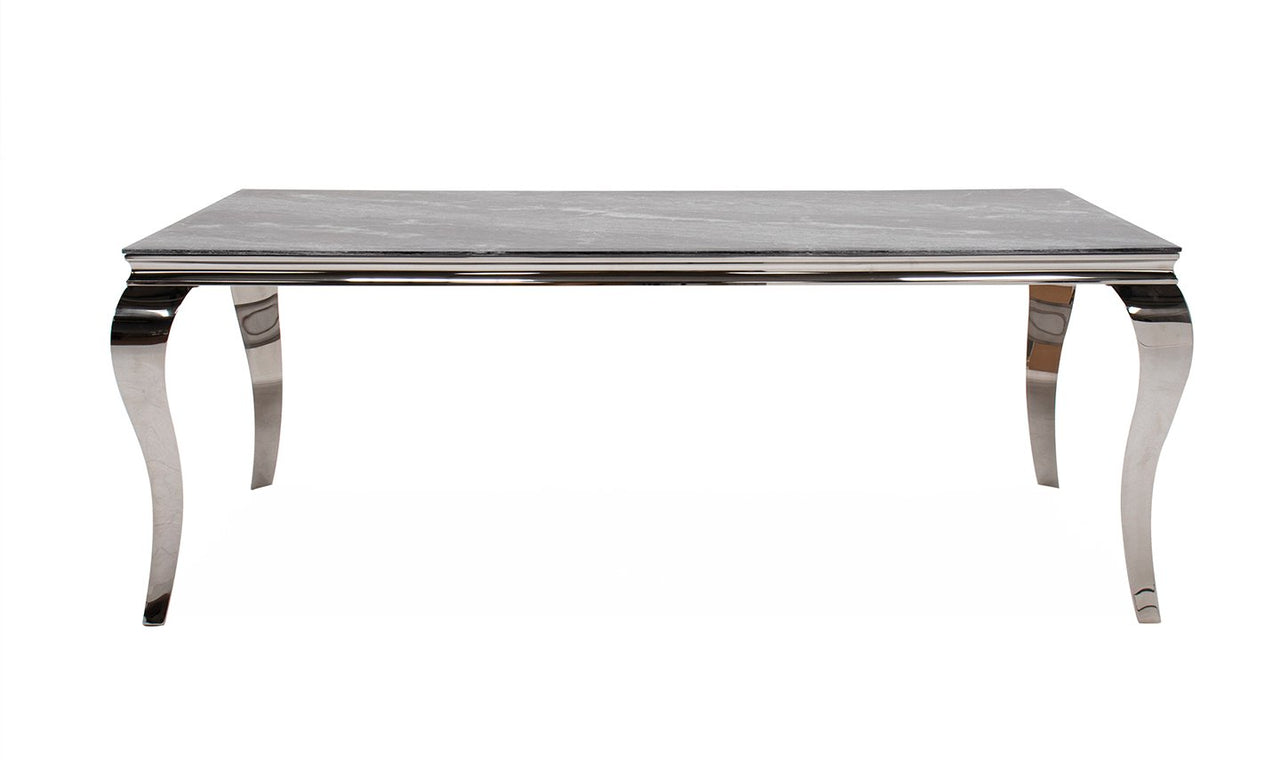 Fabien Dining Table - Grey 1200mm