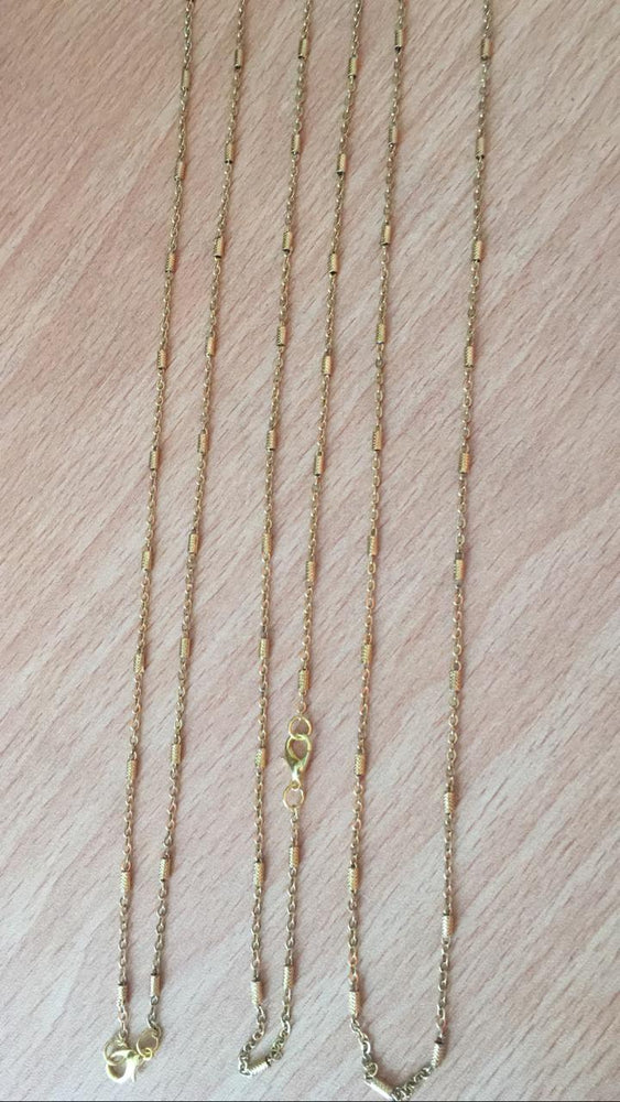 Neckles gold