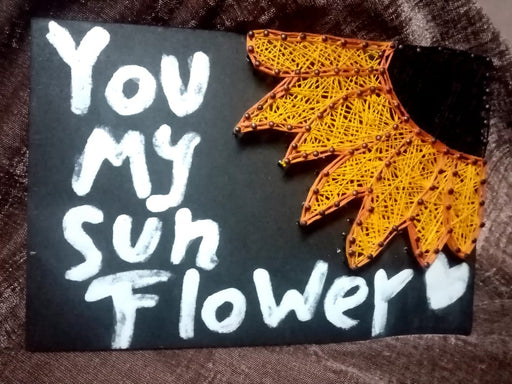 You Are My Sunflower Tableau