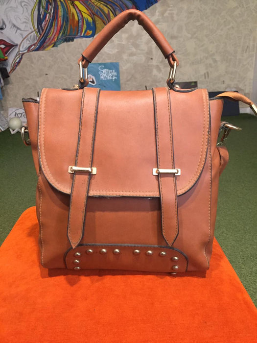 leather bag PA200 BROWN