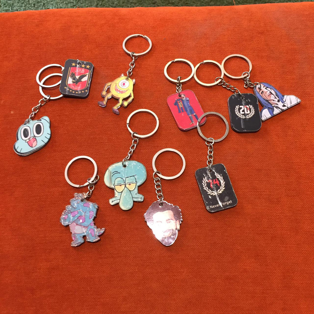 keychains 3D