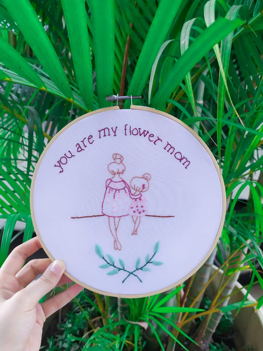 Mother's day Bmbroidery Pattern