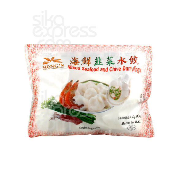 ❄Mixed Seafood and Chive Dumplings 410g