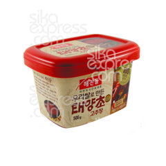 "Red Pepper Paste ""Taeyang Cho Gold"" 500g"