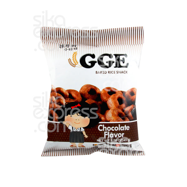 Baked Rice Snack: Chocolate Ring 45g